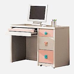 D&T德泰傢俱 星空彩虹3.2尺電腦桌-97x56x75cm