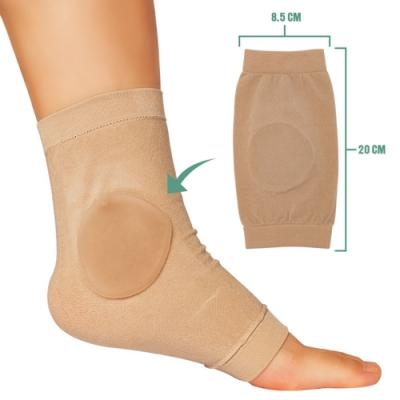 JHS杰恆社abe079熱銷爆款亞馬遜冰鞋襯墊矽凝膠套騎馬靴的冰鞋咬傷護腳後跟保護套