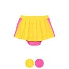 WHY AND 1/2 mini 拼接棉質萊卡短裙-內小褲1Y~4Y多色可選