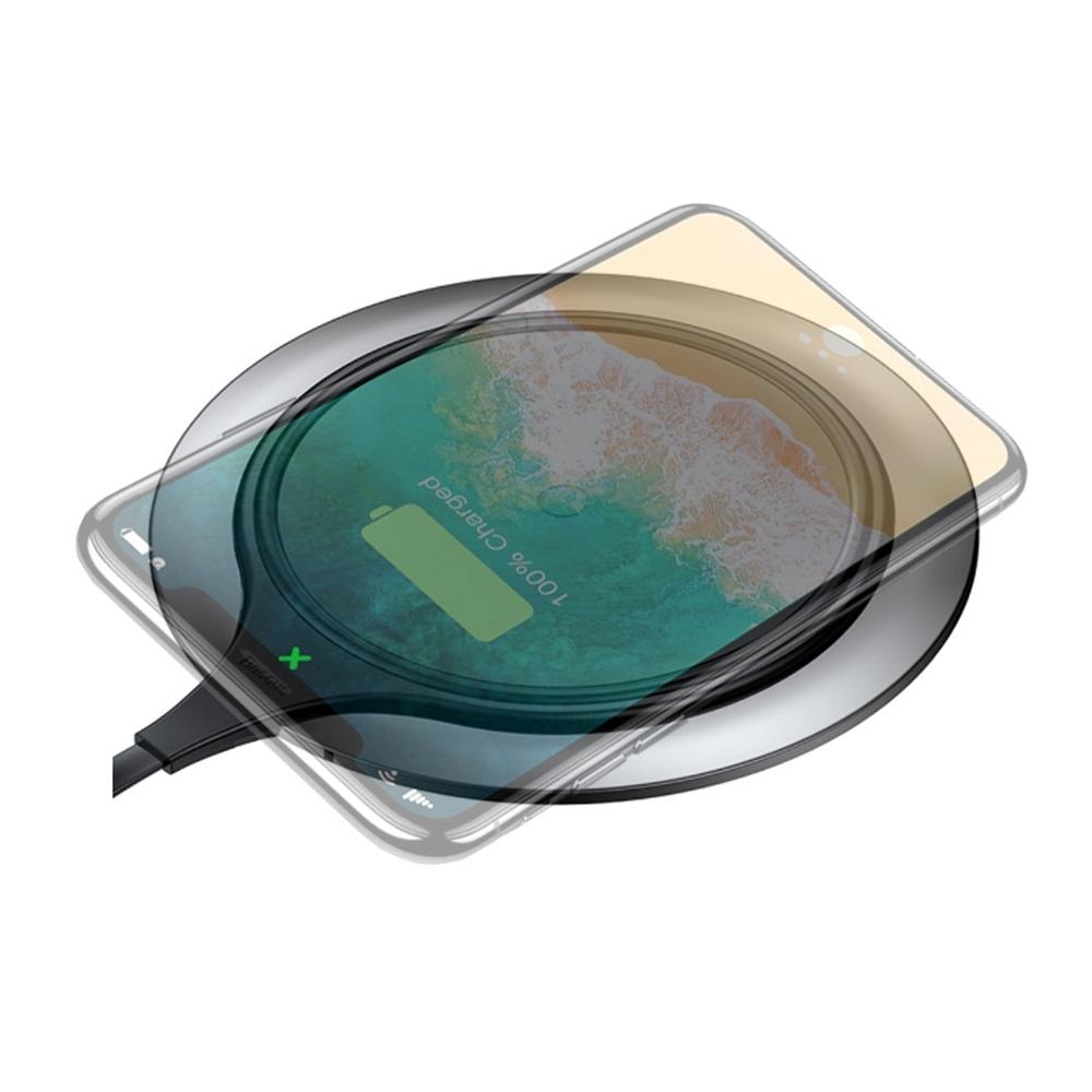 Baseus倍思 金屬智能無線充電盤7.5w快充