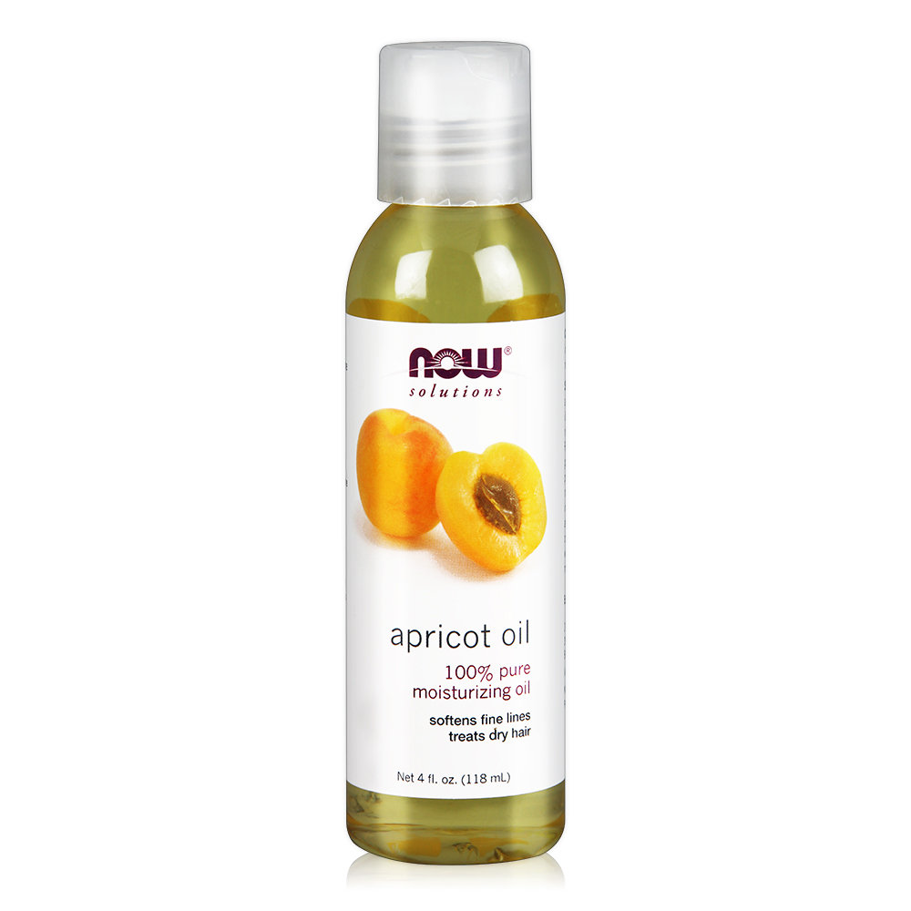NOW Apricot Kernel Oil 杏桃核仁油(4 oz / 118 ml )