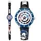 Disney 迪士尼 漫威系列 美國隊長 兒童卡通 皮革手錶-白x藍框x黑/31mm product thumbnail 1
