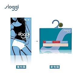 sloggi Comfort 高腰小褲買3送1促銷包 柔嫩粉