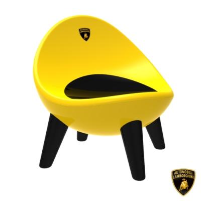【Lamborghini藍寶堅尼】全台獨家 兒童蛋椅 兒童靠背椅 蛋型椅 幼兒椅 兒童餐椅