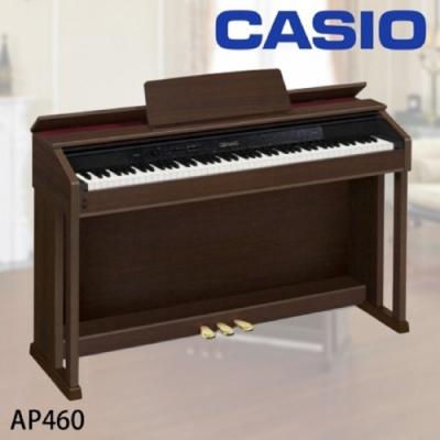 CASIO AP460/88鍵數位鋼琴/公司貨保固/棕色