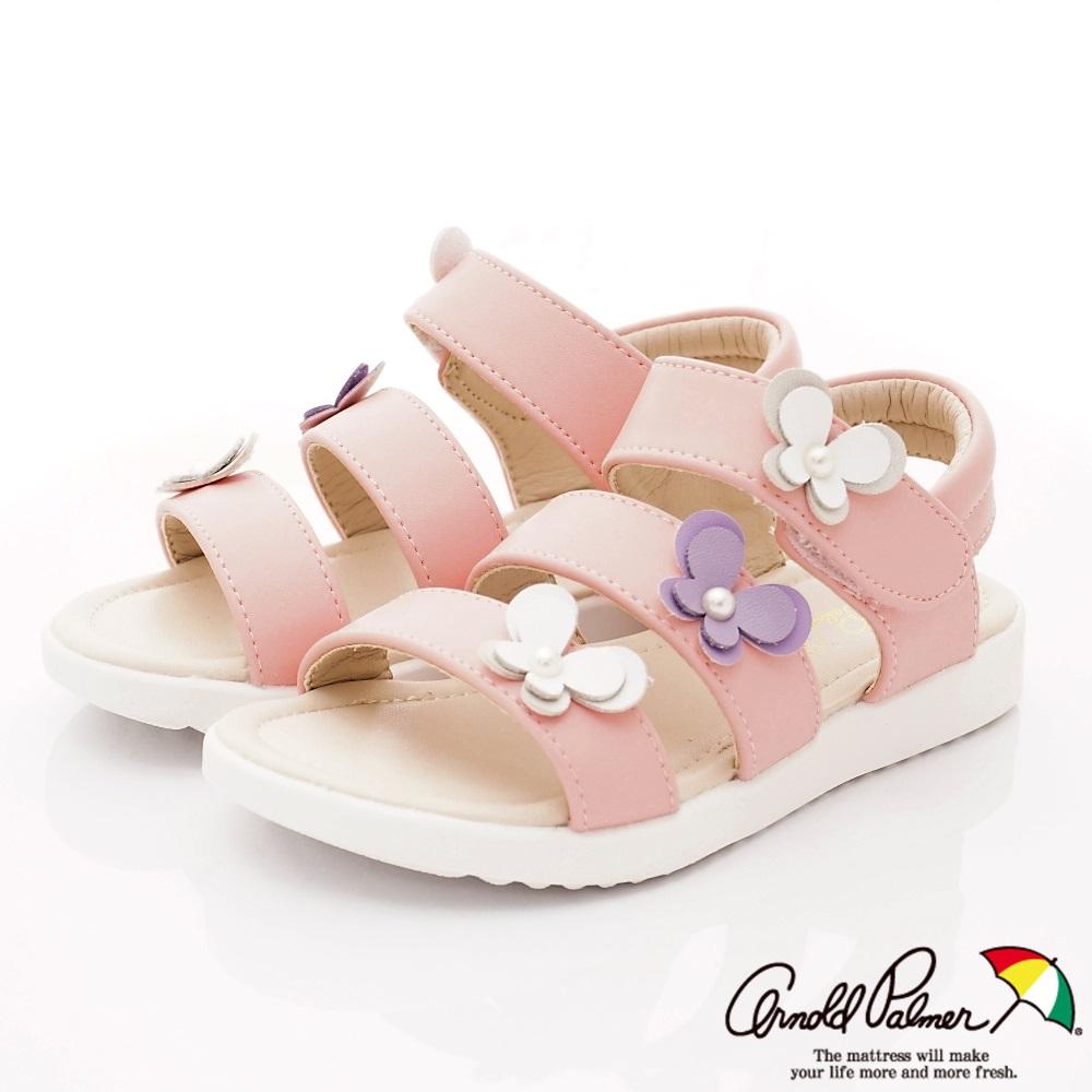 雨傘牌 氣質珍珠專櫃涼鞋款 EI93850粉紅(中小童段)