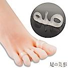 任選-足的美形 日式美腿4趾分趾固定器(1雙)