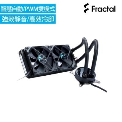 Fractal Design Celsius S24 240mm 一體式水冷散熱器-全黑化