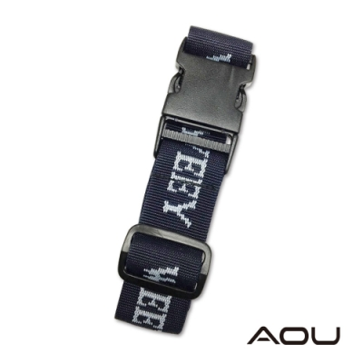 AOU 台灣製造 多用途行李外扣帶旅行省力好幫手 行李掛扣(午夜藍)66-028D11