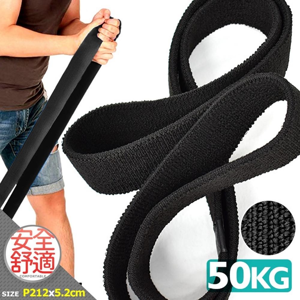 加厚50KG棉質大環狀彈力帶(防滑不捲邊)   彈力圈拉筋拉力帶
