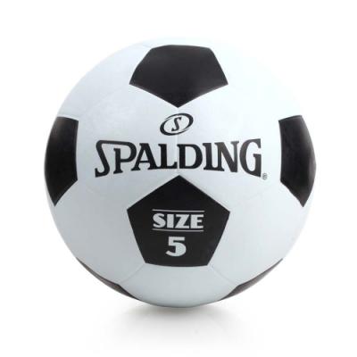 SPALDING 足球 #5 黑白