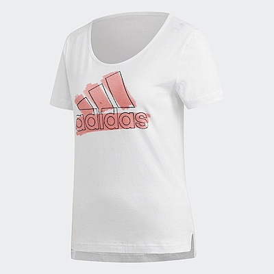 adidas T恤 Badge Of Sport Tee 女款