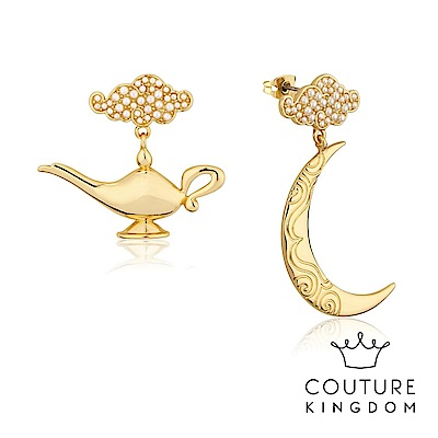 Disney Jewellery by Couture Kingdom 阿拉丁神燈鍍金耳環