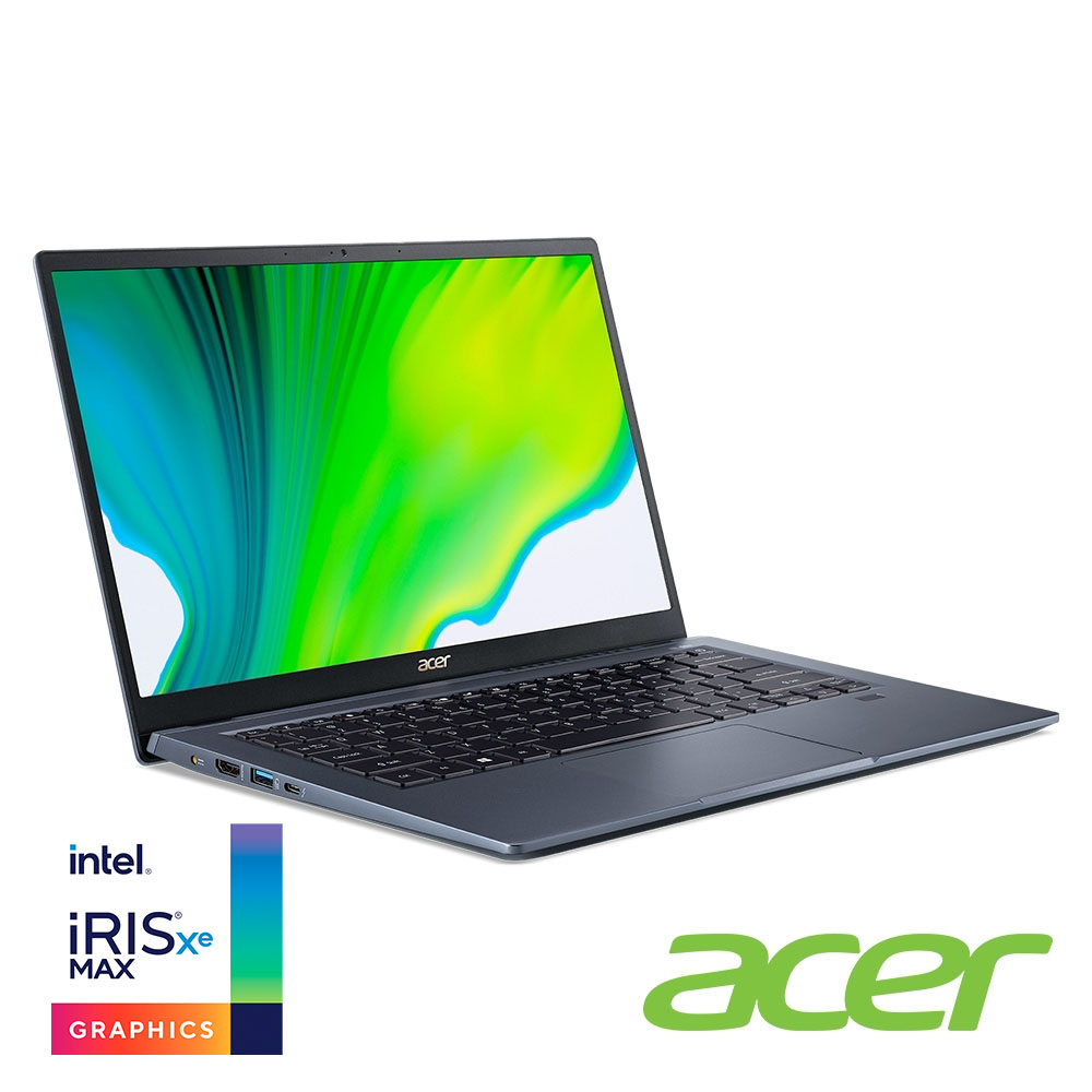 Acer SF314-510G-53KN 14吋筆電(i5-1135G7/Iris XE MAX/8G/512G SSD/Swift 3/藍)