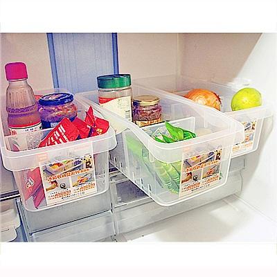 生活King 冰箱收納盒3入組(附隔板)