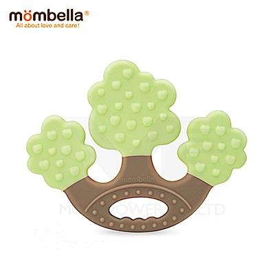 【任選】英國《mombella 》蘋果樹固齒器(綠色)