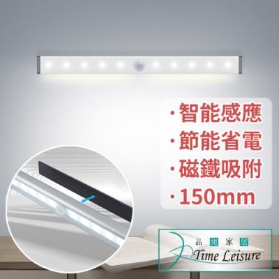 Time Leisure USB智能LED磁吸感應床頭照明衣櫃夜燈150mm