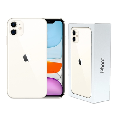 (附原廠耳機)Apple iPhone 11 128G 6.1吋智慧型手機 (原廠保固至2021年12月)【原盒福利品】