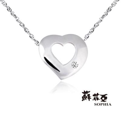 蘇菲亞 SOPHIA - 永愛純銀項鍊