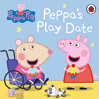 Peppa Pig:Peppa s Play Date 佩佩豬與朋友的遊戲日硬頁書