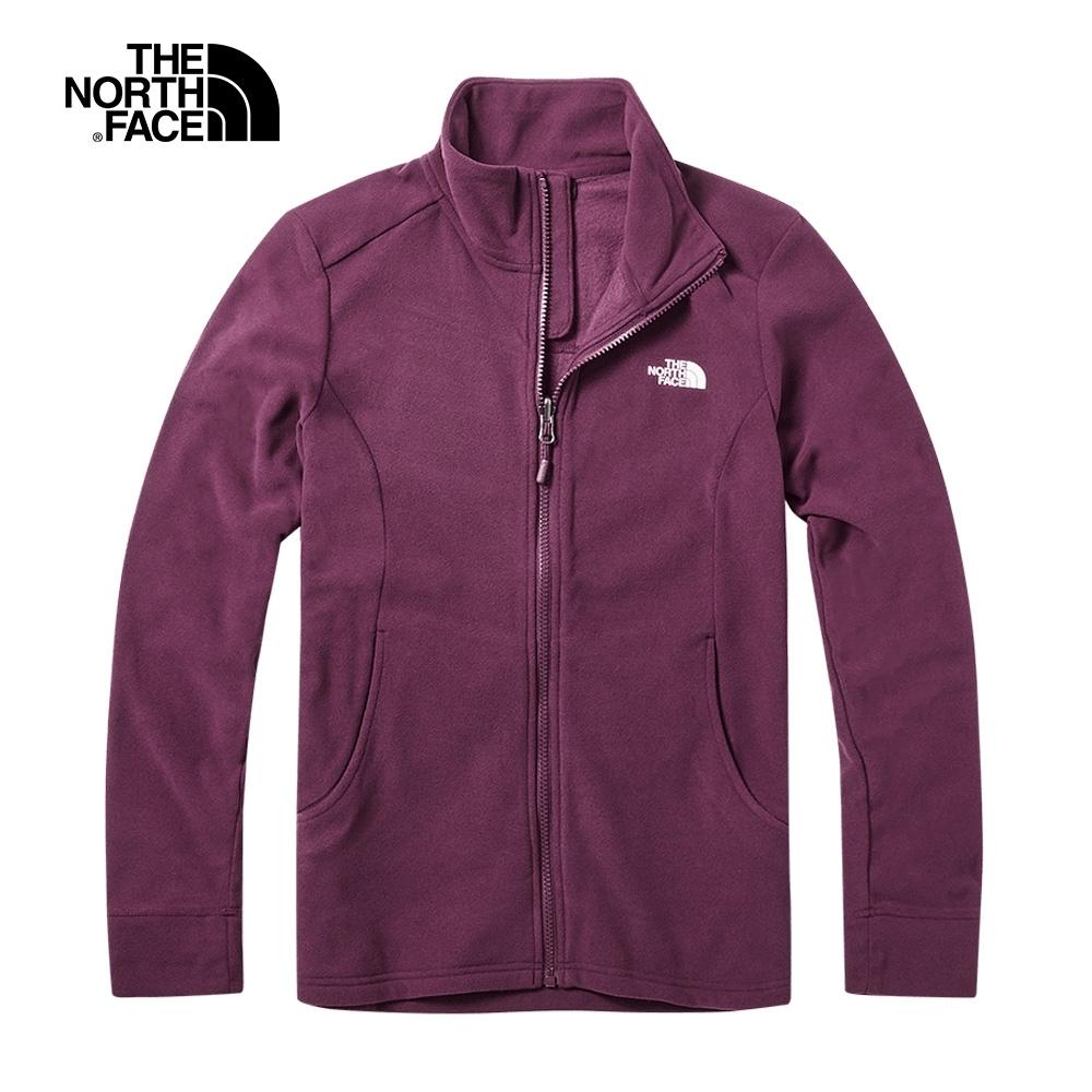 The North Face北面女款紅色舒適保暖針織上衣|3VT6HBM