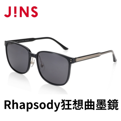 JINS Rhapsody 狂想曲METHODIC SENCE墨鏡(AMRF21S048)黑色