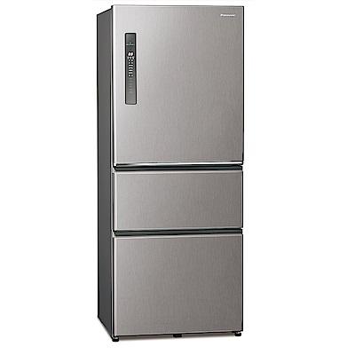 [館長推薦]Panasonic 國際牌 500公升 三門變頻冰箱 NR-C501XV-L 絲紋灰