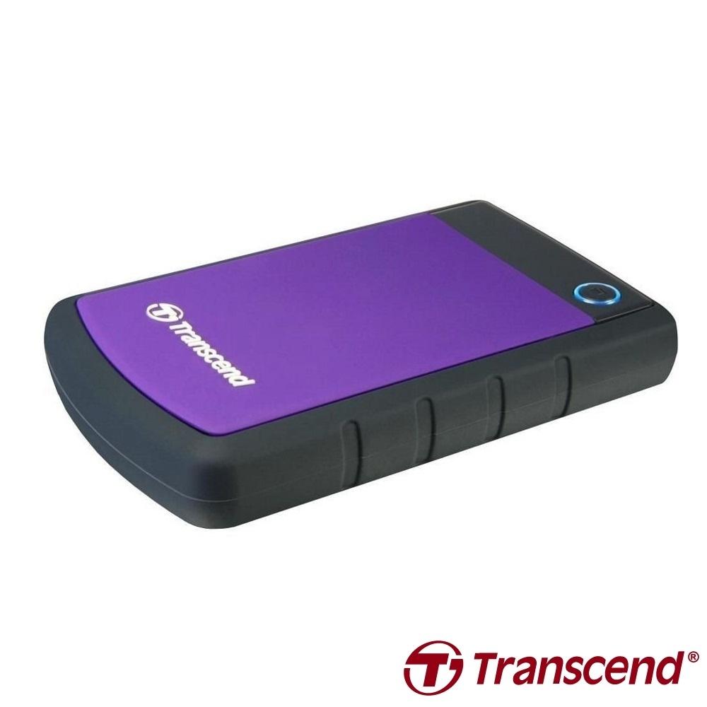 創見 StoreJet 25H3 2.5吋 4TB USB3.1 Gen1 行動硬碟(紫)
