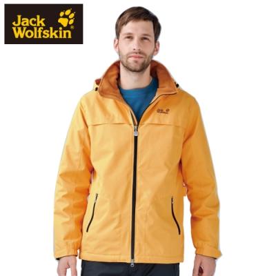 【Jack Wolfskin 飛狼】男 Kuga 防風防潑水保暖外套 (內刷毛)『黃色』