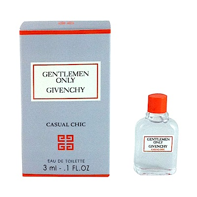 *GIVENCHY紀梵希 都會紳士 casual chic 3ml 小香