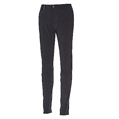 荒野【wildland】女彈性抗UV時尚合身長褲黑色