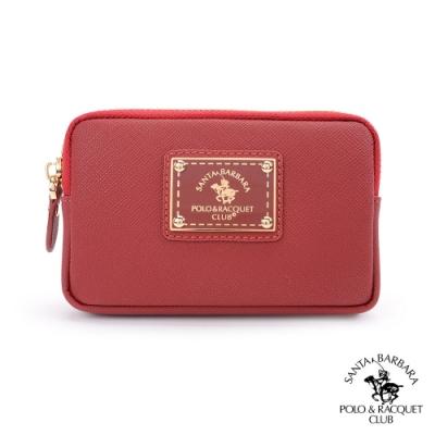 SANTA BARBARA POLO幸福微糖系列 鑰匙零錢包 酒紅色 SB58-04211