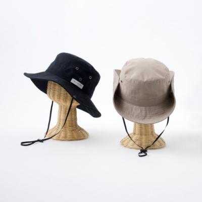 日本AUBE 可折邊抗UV登山健行防曬漁夫帽