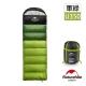 Naturehike 升級版 U350全開式戶外保暖睡袋 軍綠-急 product thumbnail 2