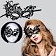 派對/化妝舞會面具 蕾絲眼罩面罩 鏤空後綁帶式-性感尤物款 kiret product thumbnail 1
