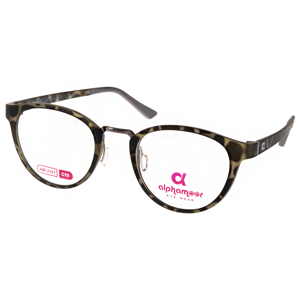 Alphameer光學眼鏡 韓國塑鋼系列/迷彩#AM3101 C10
