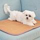 米夢家居-3D立體加厚透氣網布天然寵物紙纖涼蓆/涼墊(60x90cm) product thumbnail 1