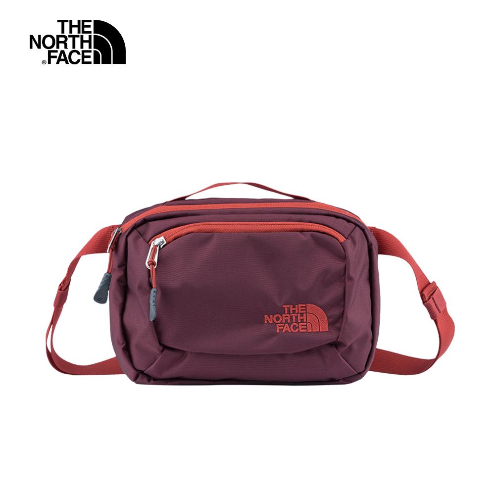The North Face北面男女款紅色多功能休閒腰包|CJ4X6JE