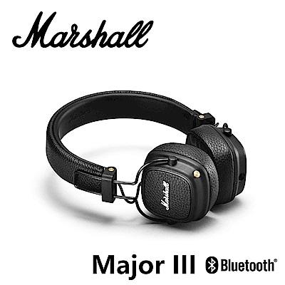 【Marshall】Major III Bluetooth藍牙無線耳罩式耳機