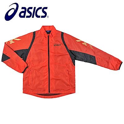 Asics 亞瑟士 男女風衣外套 紅黑 K31402-23