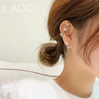 梨花HaNA 韓國設計師特別款一箭傾心不對稱耳環