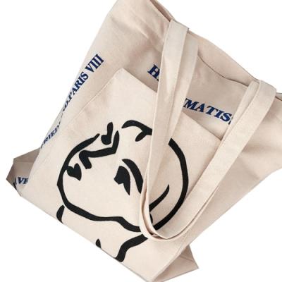 DF Queenin日韓 - 日系隨興手繪個性風帆布袋