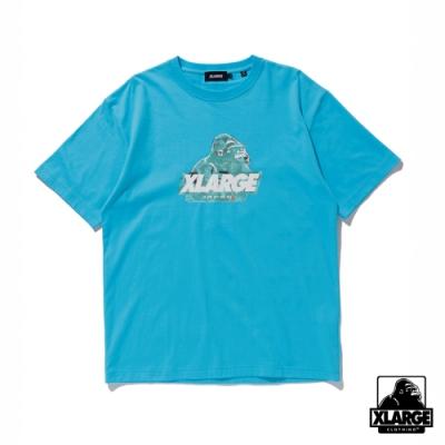 XLARGE S/S TEE JAPONISM OLD OG 2020日本限定浮世繪短袖T恤-藍