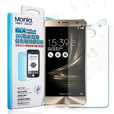 MONIA 華碩 ZenFone3 Deluxe ZS550KL日本疏水疏油9H鋼化玻璃膜