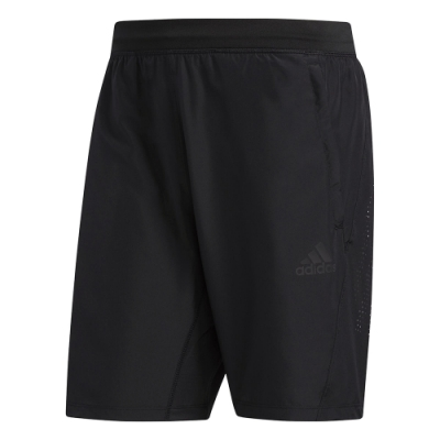 adidas 短褲 運動 休閒 健身 訓練 男款 黑 FM2146 3-Stripes