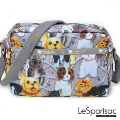 LeSportsac - Standard側背隨身包 (小狗聚會)