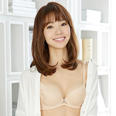 華歌爾-Good Fit Bra D-E罩杯神奇內衣(膚)四層三段專利