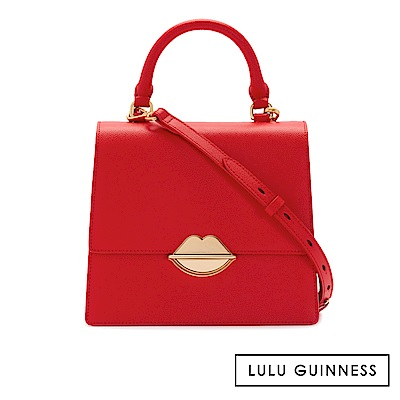 LULU GUINNESS PATTY 側背包 (紅)
