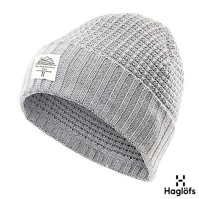 Haglofs Lava 羊毛保暖帽 灰色混合色