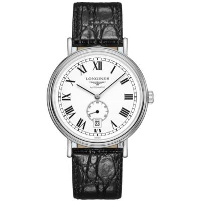 LONGINES浪琴 Presence 小秒針機械錶-40mm L49054112